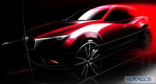 Mazda CX-3 To Debut At LA Motor Show