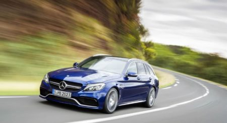 Mercedes-Benz C63 AMG Estate Paris Motor Show Launch - 1