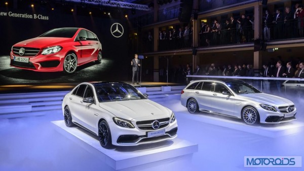 Mercedes-Benz C63 AMG Paris Motor Show Launch - 1