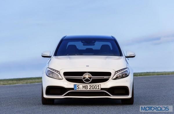 Mercedes-Benz C63 AMG Saloon Paris Motor Show Launch - 2