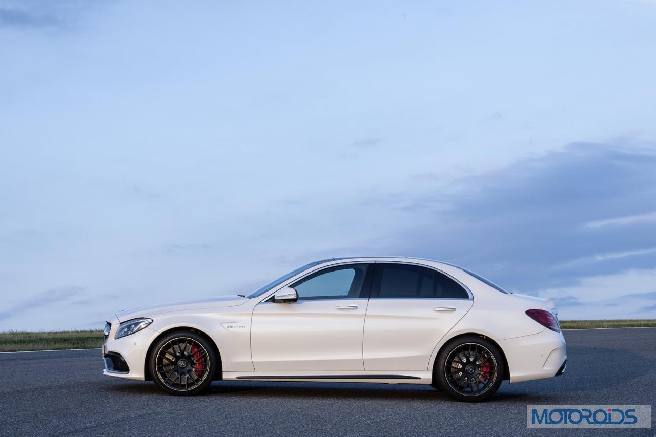 Mercedes benz c63 amg saloon paris motor show launch 5 for Mercedes benz star motors