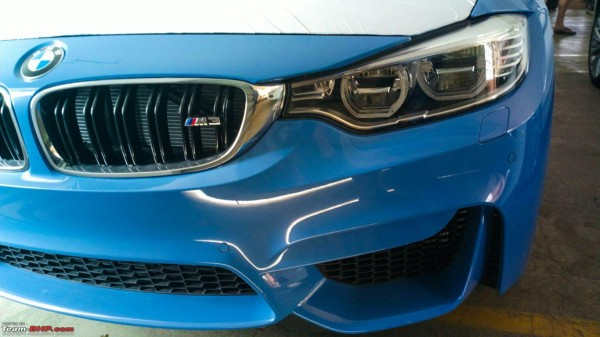 New 2015 BMW M3 and BMW M4 spotted in India Launch soon (1)