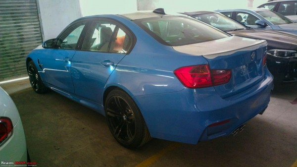 New 2015 BMW M3 and BMW M4 spotted in India Launch soon (2)