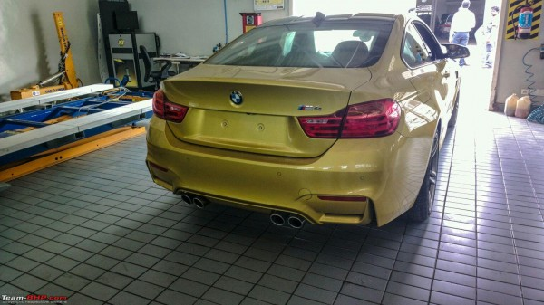 New 2015 BMW M3 and BMW M4 spotted in India Launch soon (3)