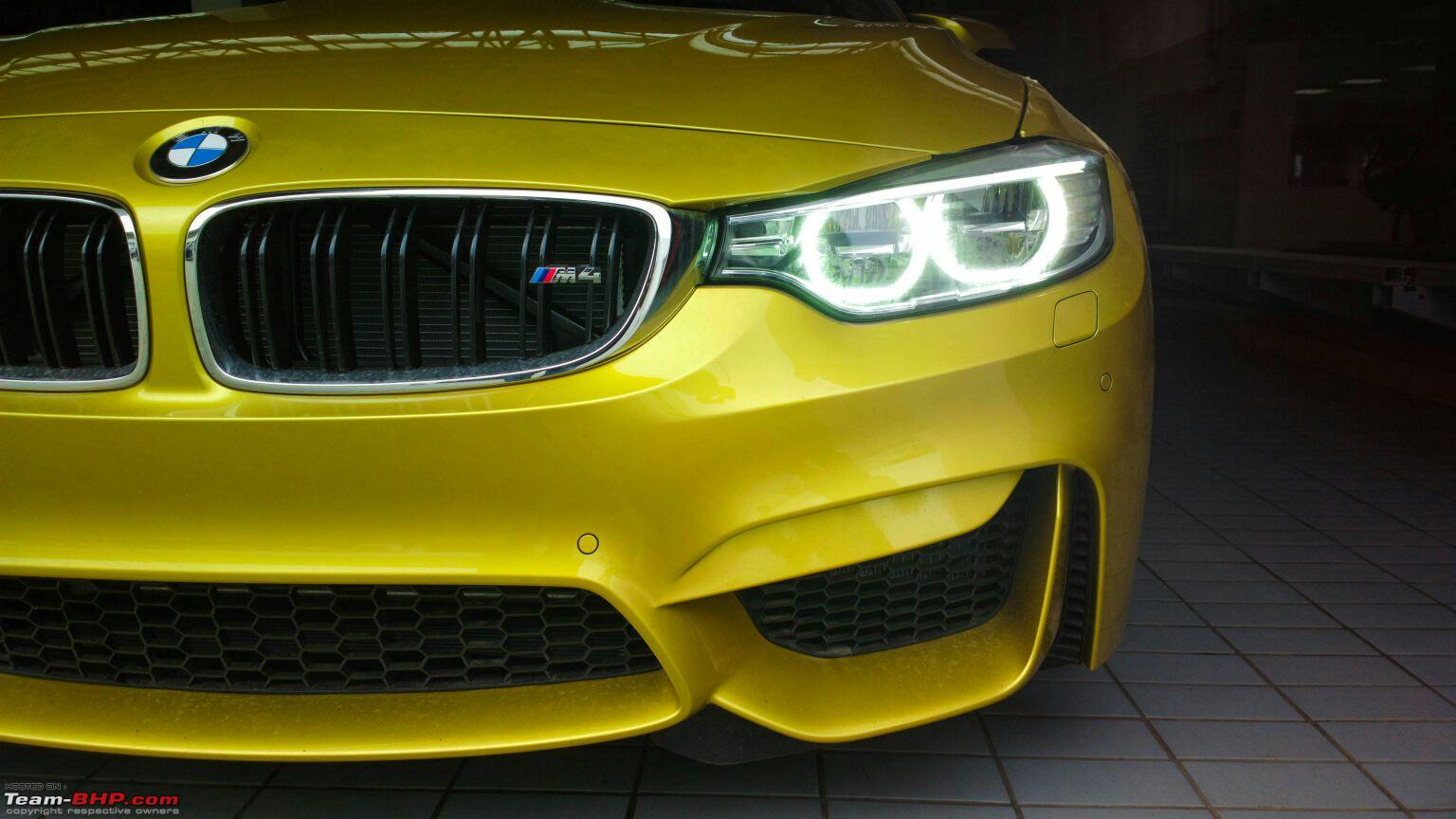 New 2015 Bmw M3 And Bmw M4 Spotted In India Launch Soon Motoroids