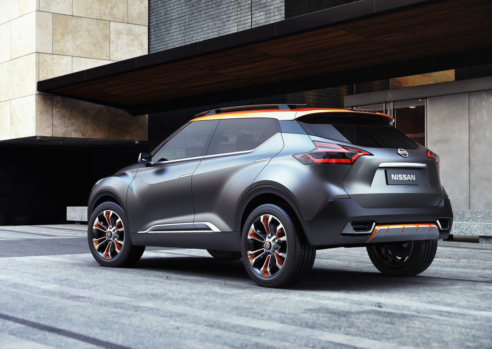 nissan kicks concept previews brazil specific compact suv motoroids. Black Bedroom Furniture Sets. Home Design Ideas