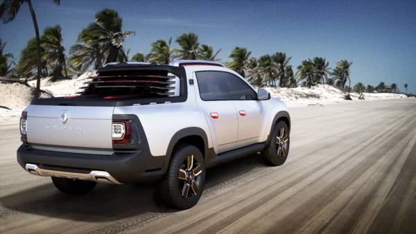 Renault Oroch Pickup Truck Concept (4)