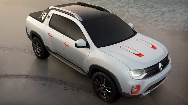 Renault Oroch Pickup Truck Concept (7)