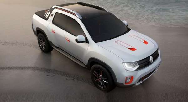 Renault Oroch Pickup Truck Concept (9)