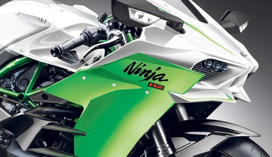Road-legal Kawasaki Ninja H2 teased (1)