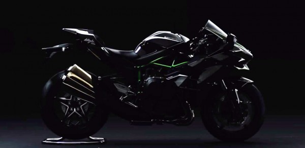 Road-legal Kawasaki Ninja H2 teased (2)