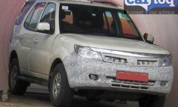 Spied Tata Safari Storme Face-lift (2)