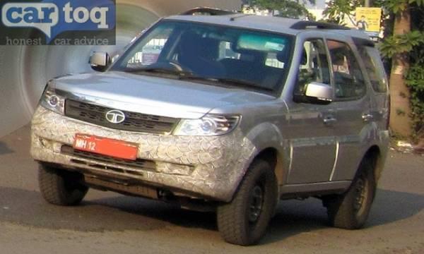 Spied Tata Safari Storme Face-lift (3)