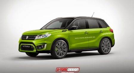 Suzuki Vitara SUV gets Rendered in Sports guise (1)