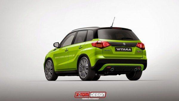 Suzuki Vitara SUV gets Rendered in Sports guise (2)