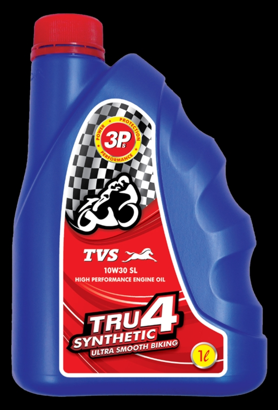 Tvs Motor Company Launches Tru4 Synthetic 10w 30 Engine