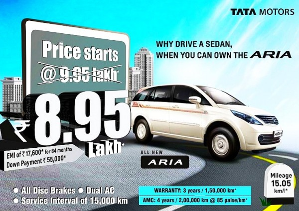 Tata-Aria-price-cut