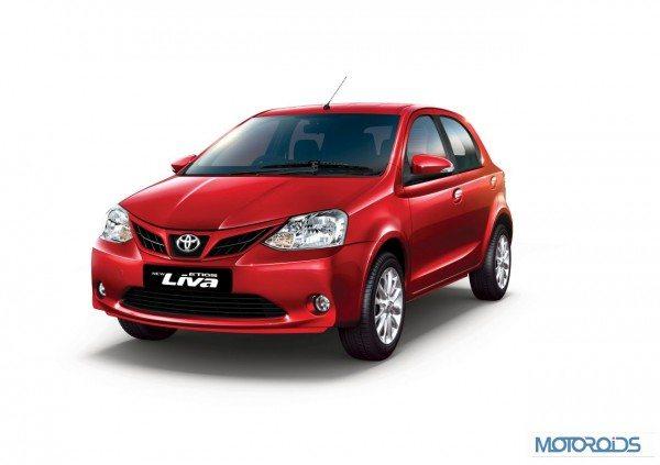 Toyota Etios Liva-India Launch