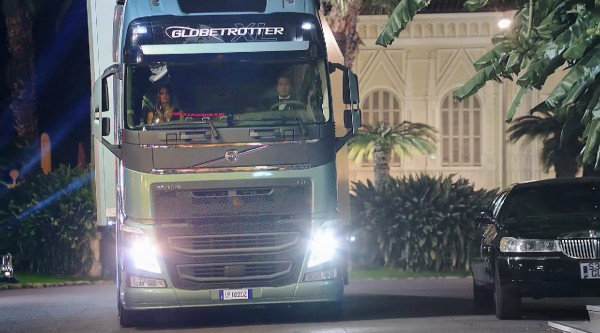 Volvo truck parking valet prank FH Series