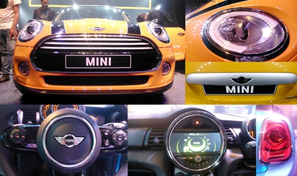 2015 Mini 3-door collage
