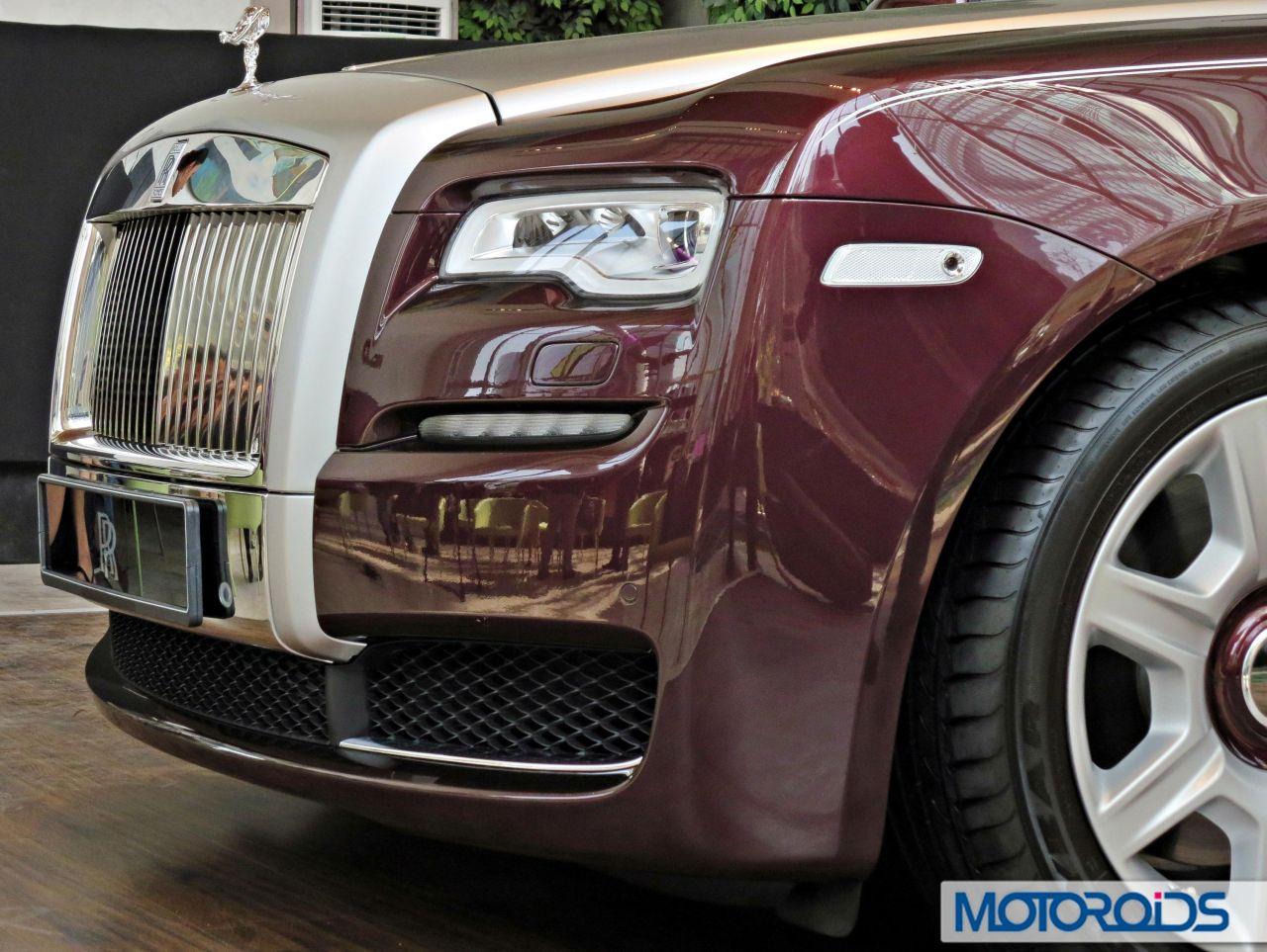 2015 Rolls Royce Ghost Series Ii India Launch Headlight