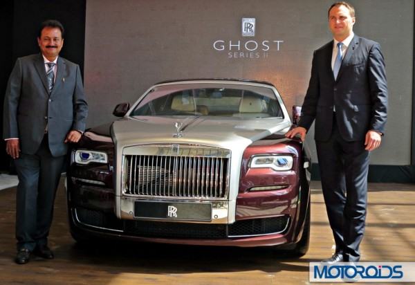 2015-Rolls-Royce-Ghost-Series-II-India-Launch-Sharad Kachalia-and-Sven Ritter (1)