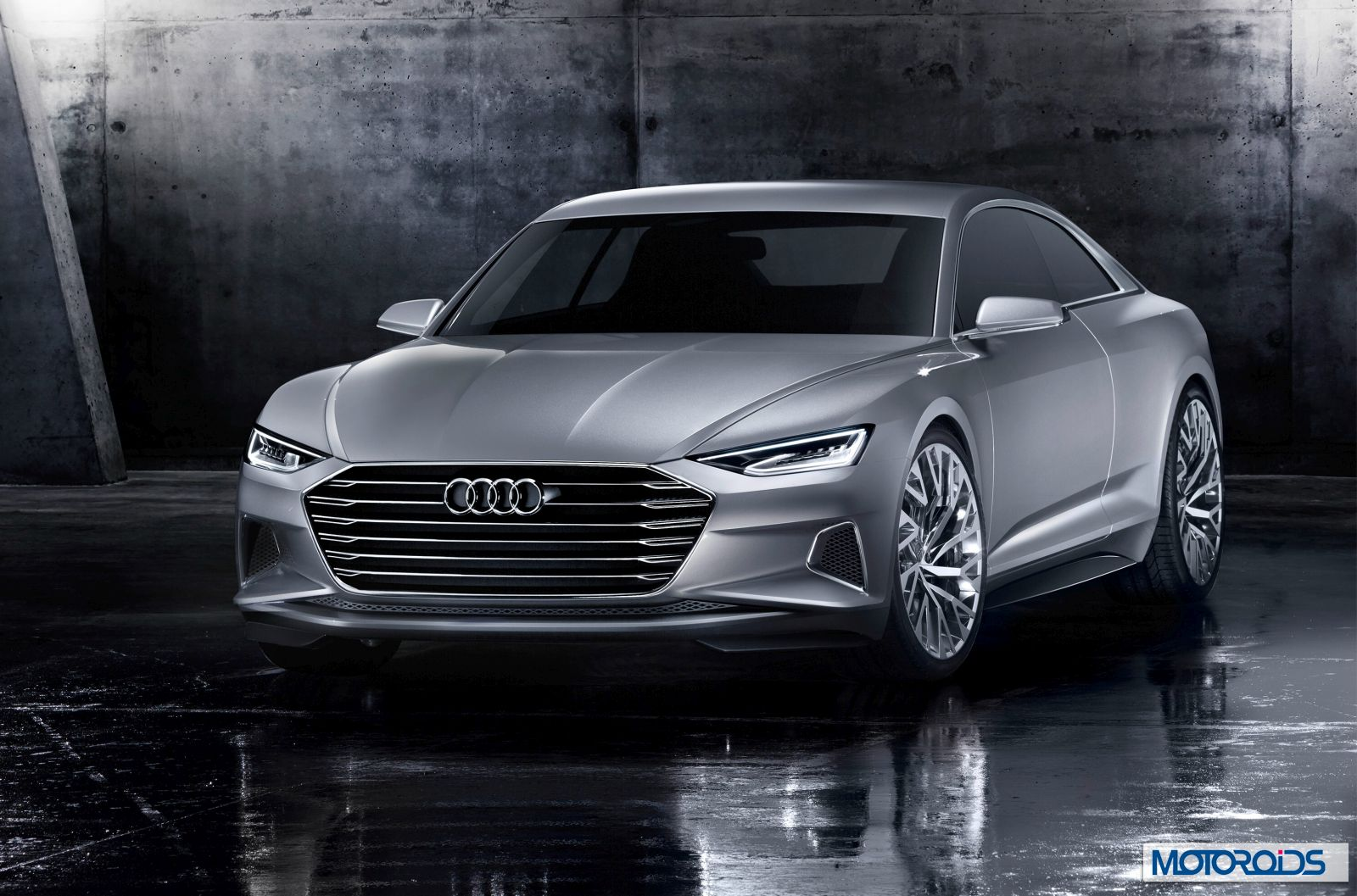 Video First Drive Of Audi A9 Prologue Concept On City Streets