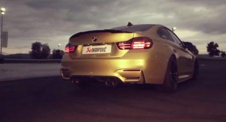 BMW-M4-With-Akrapovic-Exhaust-System-1