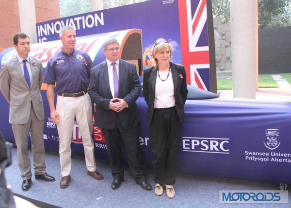 Bloodhound SSC Showcased in Delhi (1)