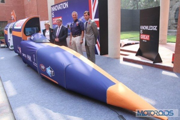 Bloodhound SSC Showcased in Delhi (2)