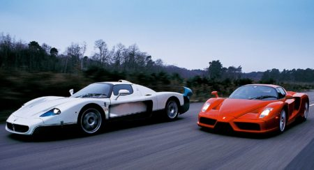 Ferrari vs Maserati