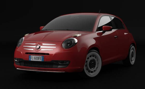 Fiat 600 by David Obendorfer (1)