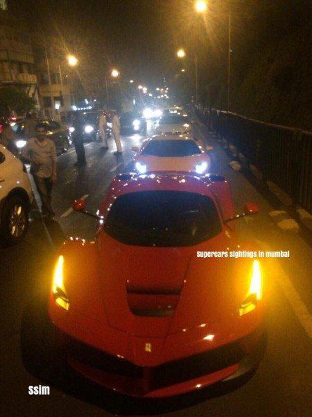 First-La-Ferrari-In-India-Spotted-In-Mumbai