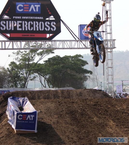Harith Noah Aranha Racing in action