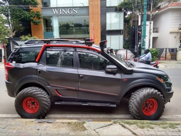 Intrepid a XUV500 based remorseless, unabashed brawn (1)