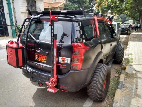 Intrepid a XUV500 based remorseless, unabashed brawn (2)