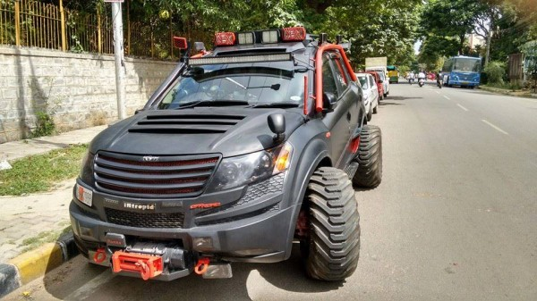 Intrepid a XUV500 based remorseless, unabashed brawn (4)