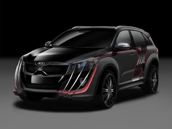 Kia Sorento X-Men edition (2)