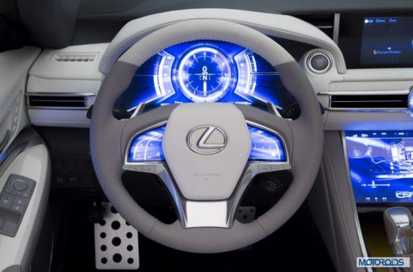 Lexus LF C2 concept 2014 Los Angeles Auto Show (37)