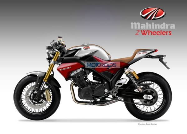 MAHINDRA CR 321 Concept Bike