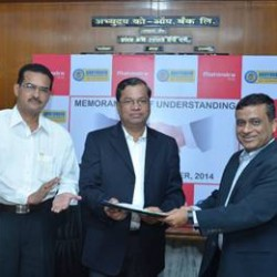 Mahindra & Mahindra ties up with Abhyudaya Co-operative Bank for Car Loans and Commercial Vehicle Finance