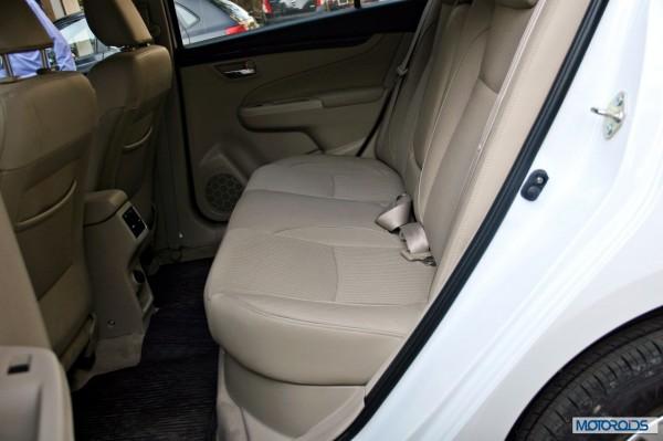 Maruti Suzuki Ciaz backseat (2)