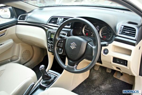 Maruti Suzuki Ciaz center console (1)