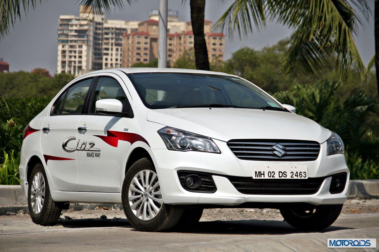 Maruti suzuki ciaz 1 3 diesel 1 4 petrol review supersized sensibility motoroids