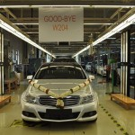 Mercedes Benz India stops production of the W204 C Class to make way for the W205