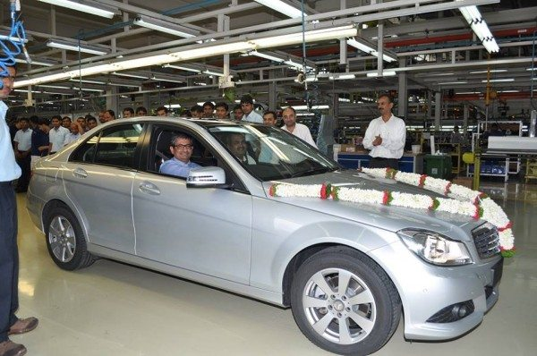 Mercedes Benz India stops production of the W204 C Class (3)