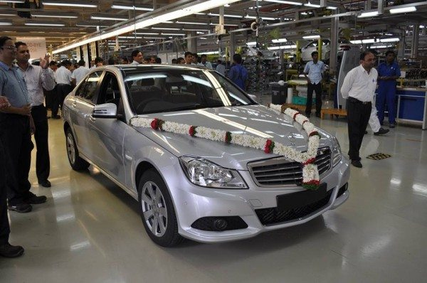 Mercedes Benz India stops production of the W204 C Class (4)
