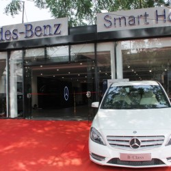 Mercedes-Benz inaugurates its new showroom in Kanpur