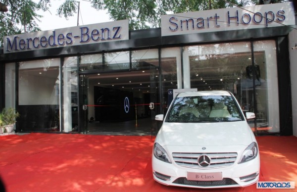 Mercedes benz Smart Hoops Showroom kanpur (1)