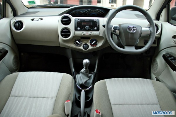 New 2014 Toyota Etios dashboard